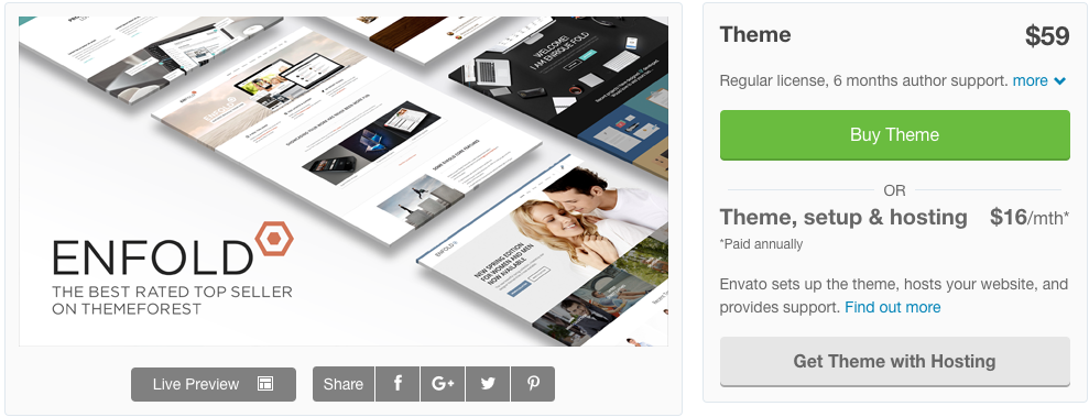Enfold- Corporate WordPress Theme